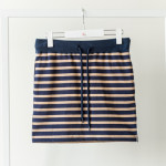 Lady's Stretch Border Skirt