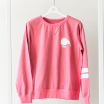 Lady's Crew neck Sweat Top