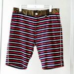 2 Color Border Shorts