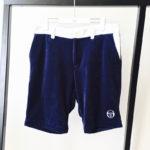 Velour Track Shorts