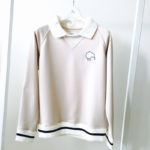 Lady's Polo Collar Sweat 2