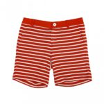 Lady's Border Jaquard Shorts